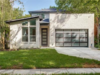 Dallas Single Family Home For Sale: 8647 Forest Hills Boulevard