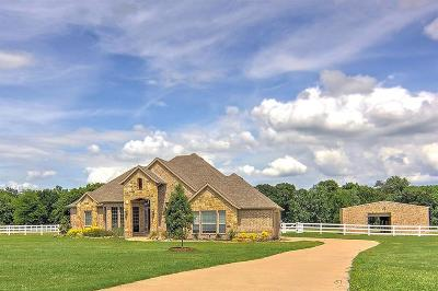 Royse City Single Family Home Active Option Contract: 705 Horseshoe Bend