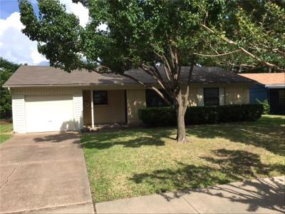 Mesquite Single Family Home For Sale: 1006 Caladium Drive