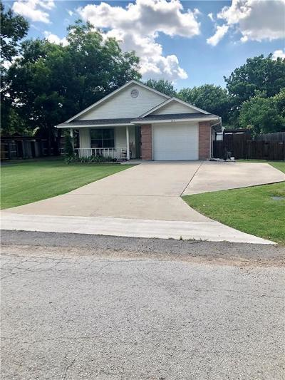 Justin TX Single Family Home For Sale: $195,000