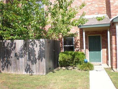 Garland Townhouse Active Option Contract: 3203 Roundtree Lane