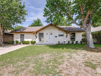 Garland Single Family Home For Sale: 461 Wildbriar Drive
