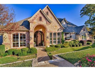 Arlington Single Family Home Active Option Contract: 5401 Hidden Trails Drive