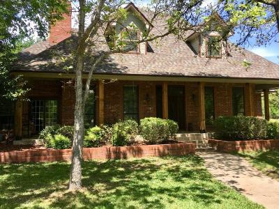 Argyle Single Family Home Active Contingent: 738 Valley View Court