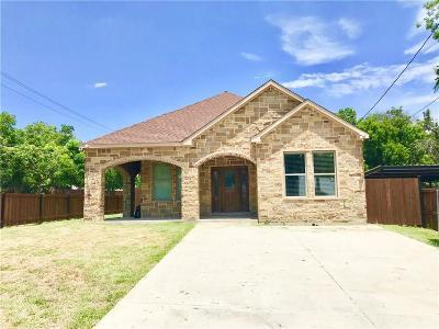Dallas TX Single Family Home For Sale: $205,000