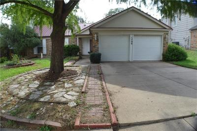 Euless Single Family Home For Sale: 1706 Pleasant Trail