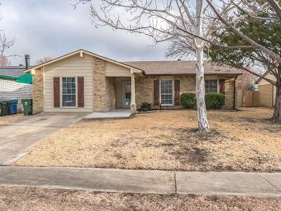 The Colony Single Family Home Active Option Contract: 5413 Gibson Drive