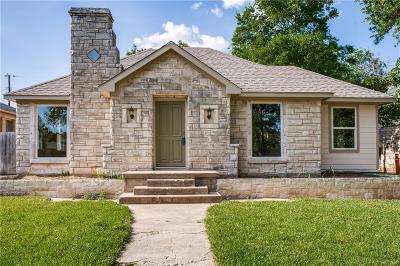 Dallas Single Family Home For Sale: 2639 Burlington Boulevard