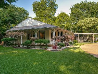 Dallas Single Family Home For Sale: 4104 Shorecrest Drive