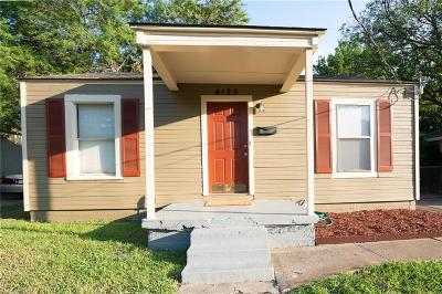 Dallas, Fort Worth Single Family Home For Sale: 4120 Hawlet Street