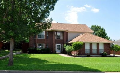 North Richland Hills Single Family Home Active Option Contract: 7520 Brentwood Court
