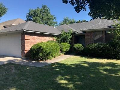 North Richland Hills Residential Lease For Lease: 6849 Old Mill Road