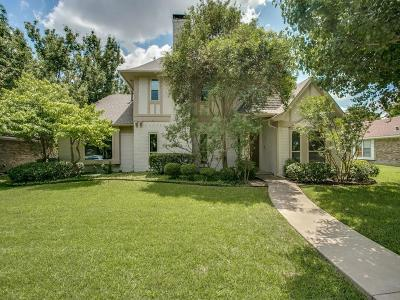 Plano Single Family Home Active Option Contract: 916 Druid Drive
