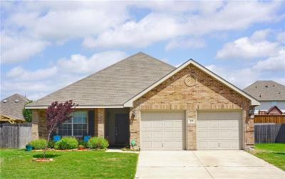 Waxahachie Single Family Home Active Option Contract: 223 Stable Drive