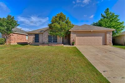 Mansfield Single Family Home For Sale: 1602 Tyler Terrace