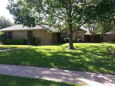 Ennis Single Family Home Active Option Contract: 1706 W Jamestown Drive