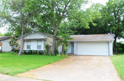 Dallas, Fort Worth Single Family Home For Sale: 1724 Indian Summer Trail