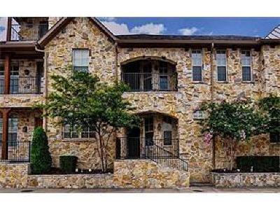 McKinney Townhouse For Sale: 5205 Fort Buckner Drive