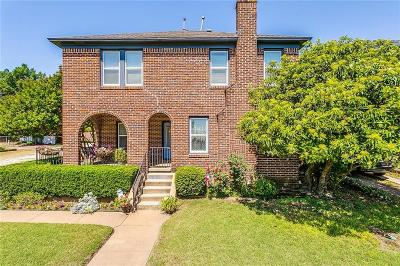Fort Worth Single Family Home For Sale: 2536 Lubbock Avenue