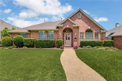 Plano Single Family Home Active Option Contract: 1417 Sandlewood Drive