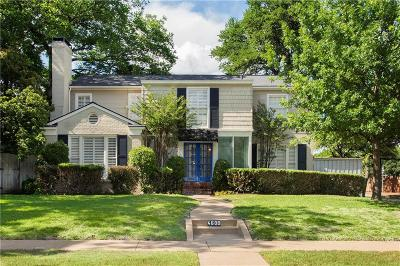 Highland Park Single Family Home For Sale: 4600 Edmondson Avenue