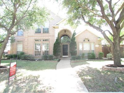 Coppell Single Family Home Active Option Contract: 113 Sunrise Drive
