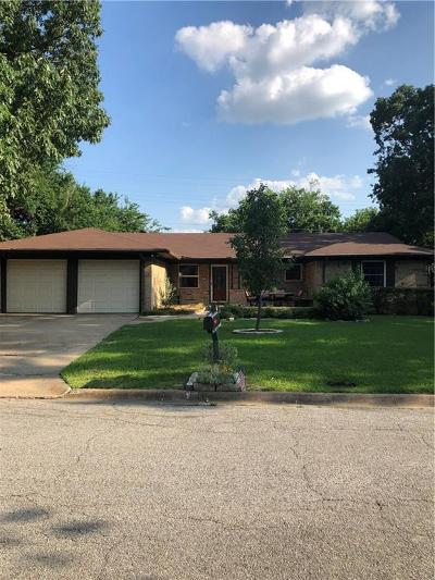 Sherman Single Family Home For Sale: 602 W Talley Drive