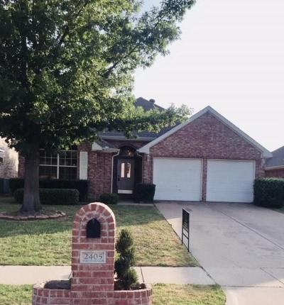 Flower Mound Single Family Home Active Option Contract: 2405 Lakeshore Drive