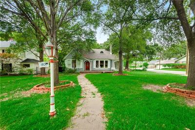 Corsicana Single Family Home For Sale: 1800 Maplewood Avenue