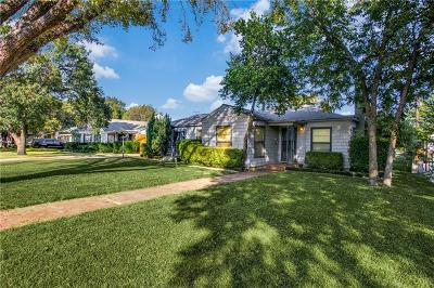 Fort Worth Single Family Home For Sale: 316 Eastwood Avenue