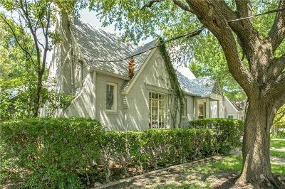 Single Family Home For Sale: 2916 Dyer Street