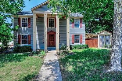 Sherman Single Family Home For Sale: 704 N Sam Rayburn