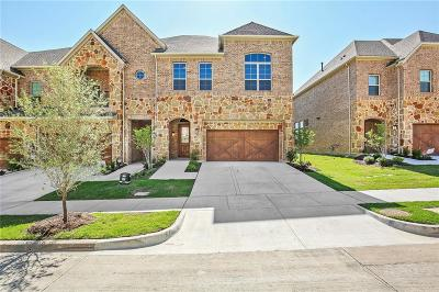 Carrollton Townhouse For Sale: 4252 Colton Drive