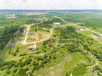 Grand Prairie Residential Lots & Land For Sale: 1247 Preserve Boulevard