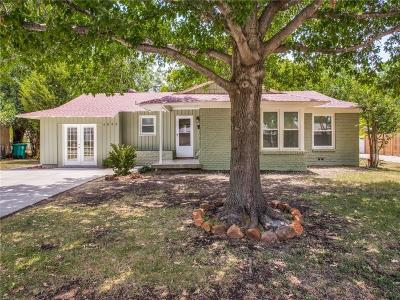 Fort Worth Single Family Home For Sale: 4009 Acacia