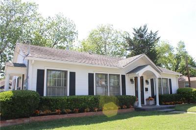 Ennis Single Family Home Active Option Contract: 1309 N Preston Street