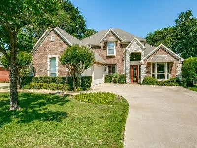 Flower Mound Single Family Home Active Option Contract: 1817 Woodland Boulevard