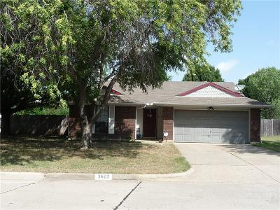 Corinth Single Family Home For Sale: 3612 Glenview Drive