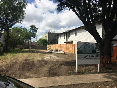 Dallas County Residential Lots & Land For Sale: 4818 Amherst Avenue