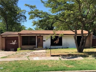 Single Family Home For Sale: 3425 Bogata Boulevard