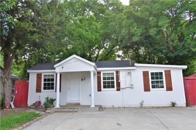 Dallas Single Family Home For Sale: 4035 Abilene Street