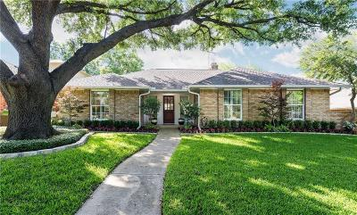 Single Family Home Active Contingent: 7108 Claybrook Drive