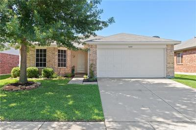 Cross Roads Single Family Home Active Option Contract: 8808 Wagon Trail