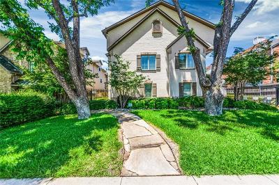 Highland Park, University Park Condo For Sale: 3414 McFarlin Boulevard #4