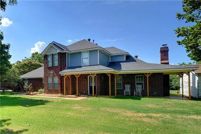 Argyle Single Family Home For Sale: 537 E Hickory Hill Road