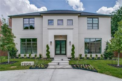 Dallas, Highland Park, University Park Single Family Home For Sale: 7909 Stanford Avenue