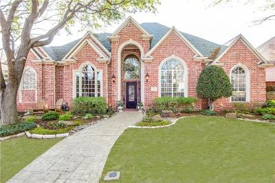 Coppell Single Family Home Active Option Contract: 116 Dickens Drive