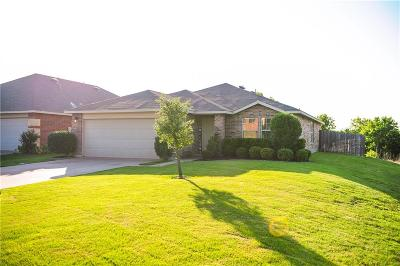 Burleson Single Family Home Active Contingent: 1449 Keith Court