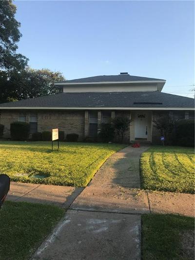 Richardson Single Family Home For Sale: 1918 E Baylor Drive