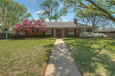 Fort Worth Single Family Home For Sale: 6471 Crestmore Road